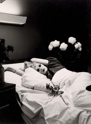 Hujar, Peter (1934-1987)  Candy Darling on Her Deathbed, Collection of Ronay and Richard Menschel, Non-Morgan,  (L2016.66.3 )