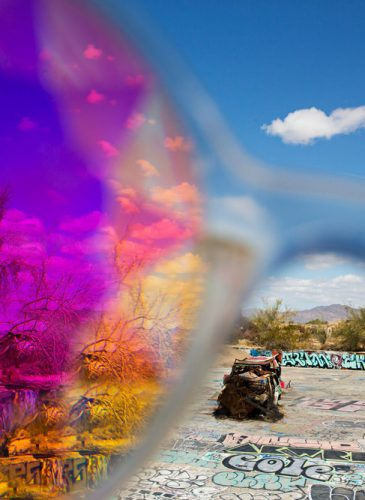 Slab City 2018. The Skateboard Park, through rose tinted spectacles.